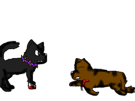 Scourge and Tigerstar wip by biostings
