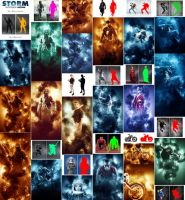 Storm Photoshop Action by GraphicAssets
