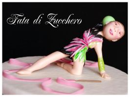 rhythmic gymnastic cake 2 by Dyda81