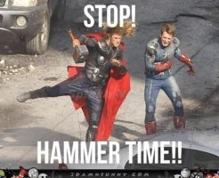 STOP ITS HAMMER TIME!!! by SorceressRaven