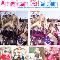 American Girl Action by PartyWithTheStars