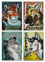 EF16 badges - part 2 by TaniDaReal