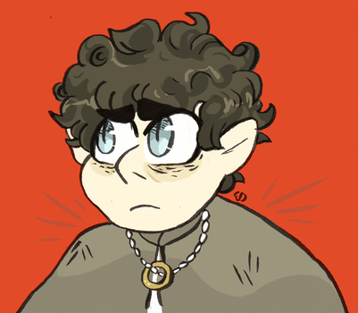 frodo by mushroomstairs