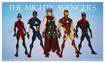 Avengers Season One Redesigns by Femmes-Fatales