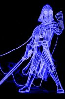 vader neon by AlanSchell