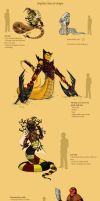 Snake Character Designs by Frankyding90
