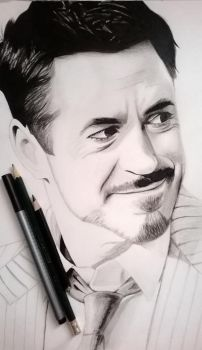 Robert Downey Jr. (Draw) by Chrisru