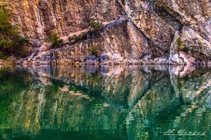 quarry Carriere1 Sille le Guillaume Sarthe France by hubert61