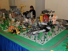 Lego City by V-kony