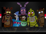 Regular tree friends (five nights at freddy's)  by gloriapainthtf