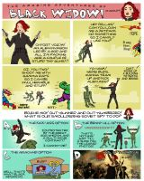 The Amazing Adventures of Black Widow by R0b0C