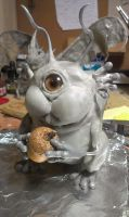Cyclops Squirrel WIP by RavendarkCreations