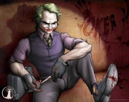 The Joker by DavidFloresM