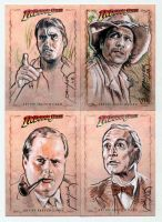 Indy sketchcards by jasonpal