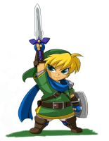 Bladed Heroes Line Up: Link by ShoNuff44