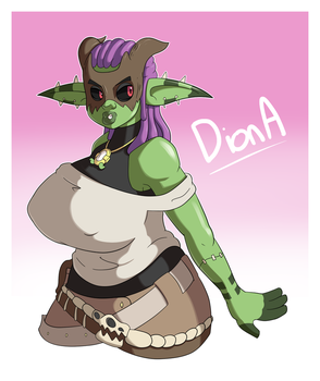 COMMISSION - Diona by pc-engine