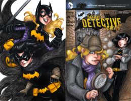 Detective Comics Batgirls Cover by msciuto