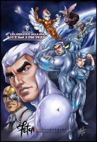 Silverhawks_tribute by FranciscoETCHART
