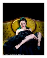 On A Victorian Sofa by Film-Exposed