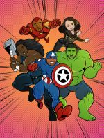 Pastoral Avengers by Fyuvix