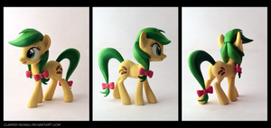Apple Fritter 3D-Printed Figure by Clawed-Nyasu