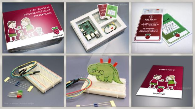 Raspberry Pi Adventure Kit by Araen