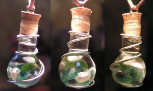 Magic Vial - Deep Sea Pendant by Izile