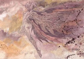 Claymore Priscilla Who Surpasses The Abyssals by Nick-Ian