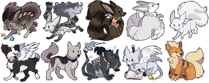 Freya icons 2 by Keshi-Commish