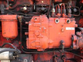 Tractor Engine by FantasyStock