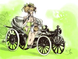 Printemps automobile by Ellana01