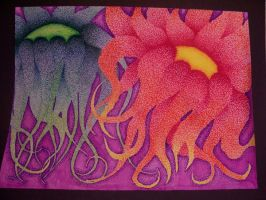 Pyschedelic Tentacles by peacetree7