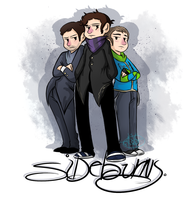 Sideburns Crew. by kaitlinxing