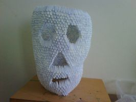 4000 peice venture folded head by chasz-manequin