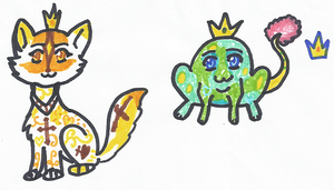 Crown pets (2012) by CherrySapphire