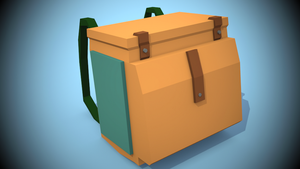 Low Poly Backpack [(Game-) Asset] by CrymaOfficial