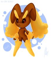 Simple Lopunny by Mn27