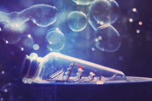 Tiny Bottled Dreams by UntamedUnwanted