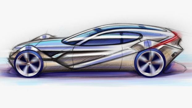 Photoshop Practice - Shooting Brake by garyjpaterson
