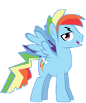 Rainbow Blitz Trace by cheeseater109