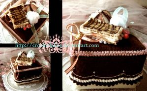 Sweet Grotesquery: Milk ChocoCake by CrookedAlice