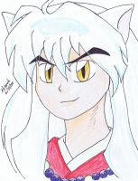 Half Demon Inuyasha by alazic02