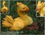 Chocobo by etherrawen