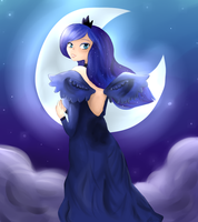Princess Luna by Psychodoughgirl4