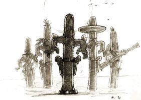 The Bandidos of the Weird West by jadeLoTuZ