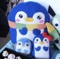 Penguin Plushies! by MelodyMaid