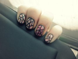 Added Border by NailedItWithGlitter