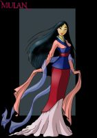 mulan by nightwing1975