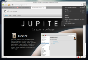 Jupiter Firefox Preview by zeeeeee