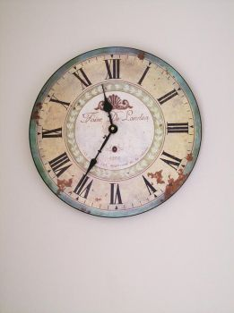 Wall Clock 06 by Elaweasel